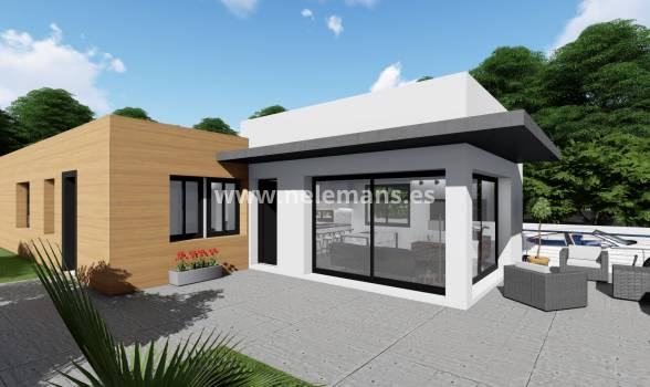 Detached Villa - New Build - San Fulgencio - San Fulgencio - Town