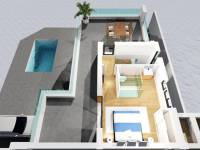 New Build - Semi Detached Villa - Benijofar - Benijofar - Village
